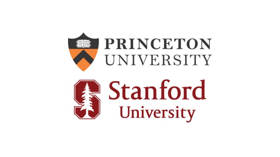 princeton-and-stanford-logos